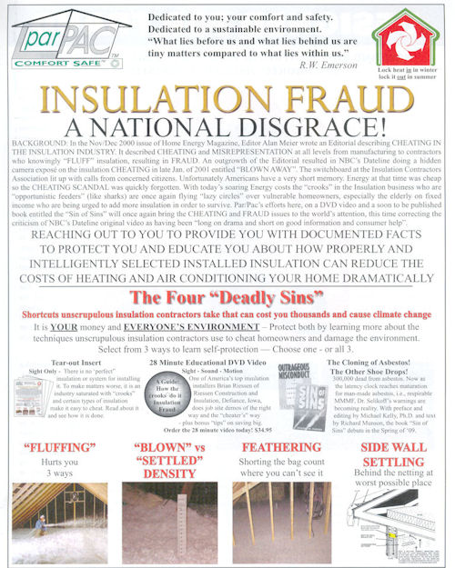 page 1 Insulation Fraud