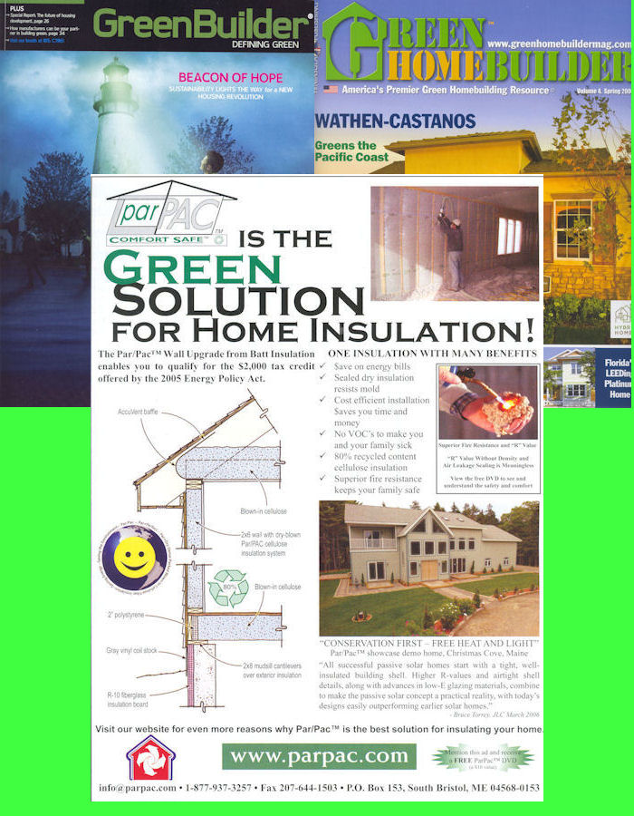 Green Builder and Green Home Builder