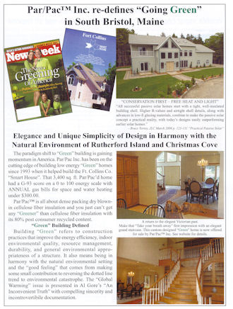 "ParPac Re-defines ""Going Green"" in South Bristol, Maine"